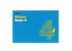 Additio Basic 4 libreta grapada de música