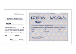 Loan talonario loterias 100 hojas