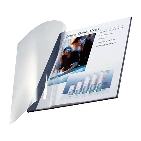 Leitz caja de 10 tapas flexible Impressbind
