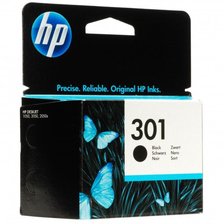 HP cartucho de tinta 301 negro