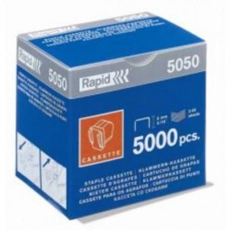 Caja de 5000 grapas Rapid para grapadoras eléctricas