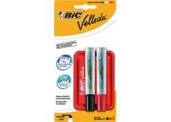 Bic kit borrador con 2 rotuladores