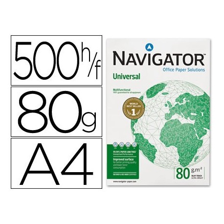Navigator Universal paquete papel 500 hojas 80 gr.
