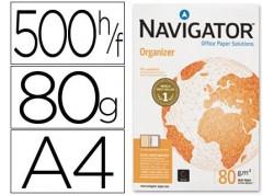 Navigator Organizer paquete papel 500 hojas A4 80 grs.  4 taladros