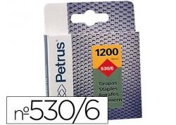 Petrus caja de 1200 grapas cobreadas para clavadoras