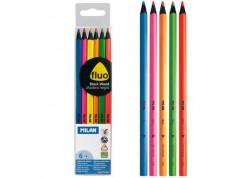 Milan lápices de colores fluorescentes