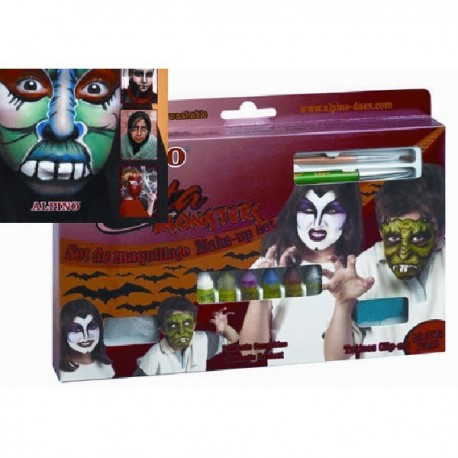 Alpino fiesta maquillaje monsters