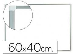 Q-connect pizarra blanca melamina con marco de aluminio