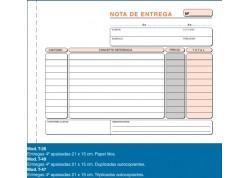 Loan talonario nota de entrega duplicado