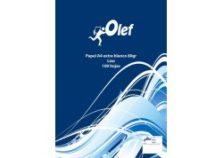 Olef paquete papel 100 hojas A4 80 grs.