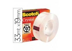 Cinta adhesiva Cristal Scoth