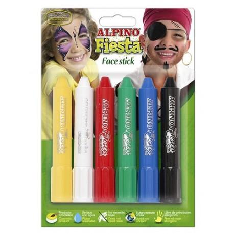 Alpino set de fiesta Face Stick