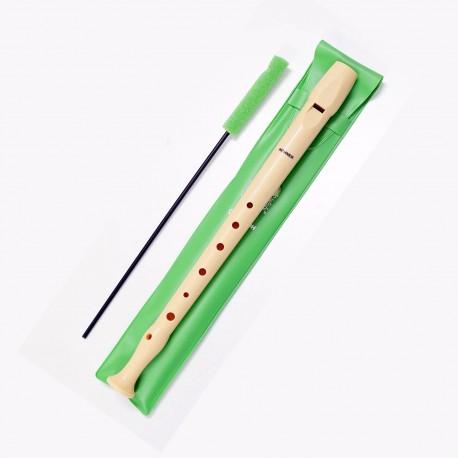 Hohner flauta dulce funda verde