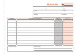Loan talonario albaranes triplicado