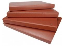 Mariola carpeta folio anillas cartón cuero