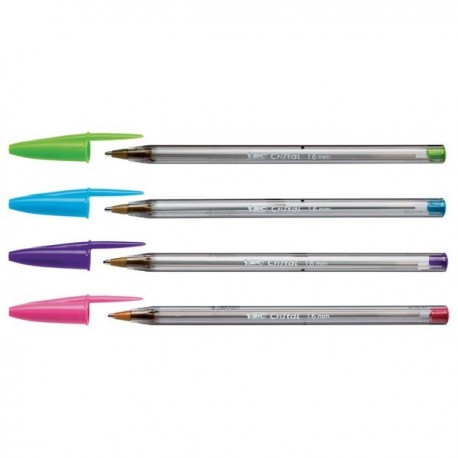 Bic bolígrafo cristal fashion