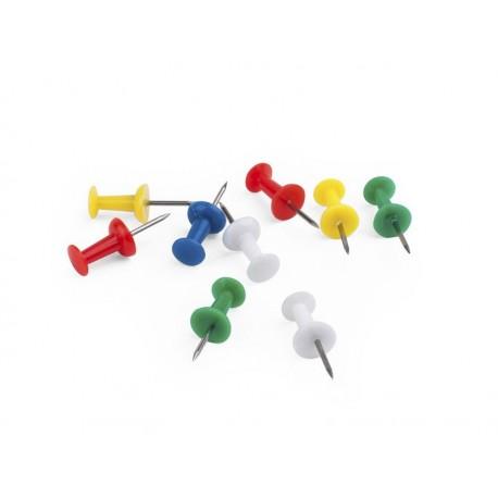 Caja 100 agujas push pin de señalización