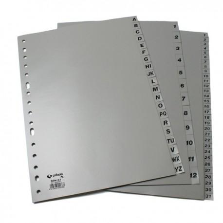 Grafoplas separadores numéricos 1-31