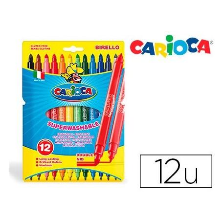 "Carioca rotulador Birello ""doble punta"""