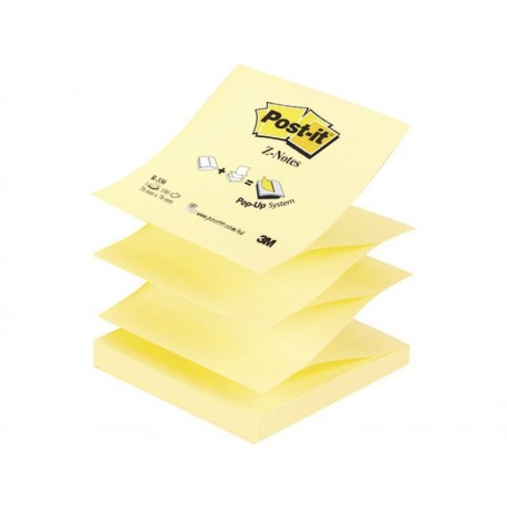 Post-it block Z-Notes amarillo