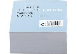 Loan taco de notas blanco T-148