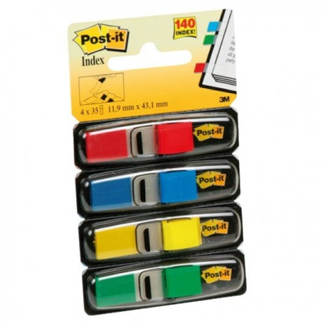 Post-it index pequeño con dispensador