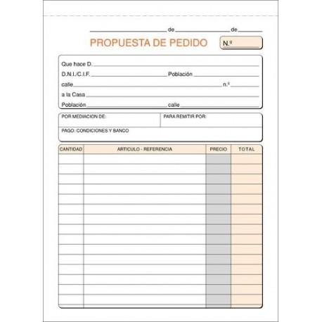 Loan talonario pedidos duplicado