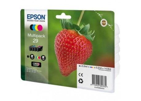 Epson  multipack 4 cartuchos de tinta T29