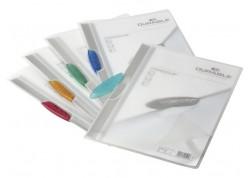 Durable caja 25 dossiers A4 con clip Swingclip translúcido