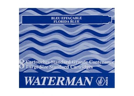 Waterman caja 8 cartuchos pluma