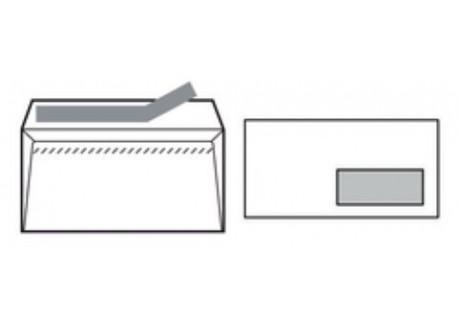 Caja 500 sobres v.d. autodex offset blanco 90 gr.