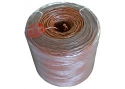 Rollo cuerda plástico rojo