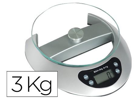 Q-connect pesacartas electronico 3 kg.