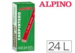 Alpino caja 24 lápices carpintero