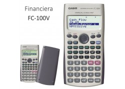 Casio calculadora financiera FC-100 V