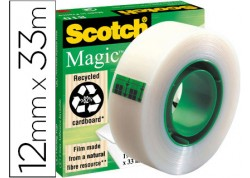 Cinta adhesiva invisible Scoth Magic