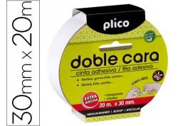 Cinta adhesiva doble cara Plico