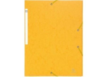 Exacompta Scotten Maxi A4 carpeta cartón gomas y 3 solapas