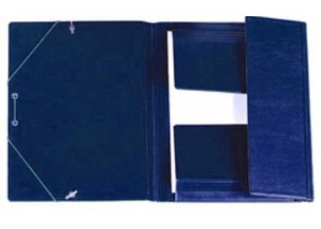 Iberplas carpeta 4º PVC gomas y solapas