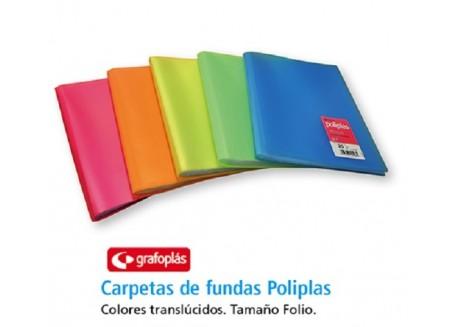 Grafoplas carpeta de fundas flexible poliplas