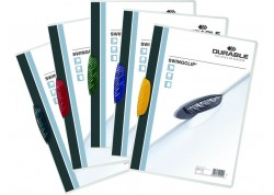 Durable caja 25 dossiers A4 con clip Swingclip