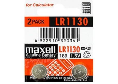 Maxell blister 2 pilas alcalinas de botón