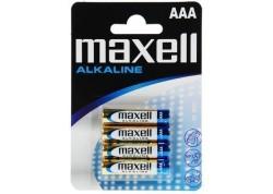 Maxell bilster 4 pilas alcalina LR03 (AAA)