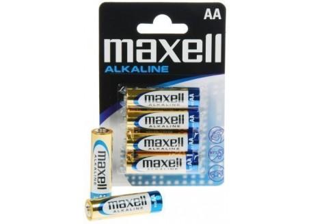 Maxell blister de 4 pilas LR06 (AA)