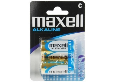Maxell blister de 2 pilas LR14 (C)