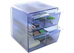 Archivo 2000 cubo con 4 cajones pequeños