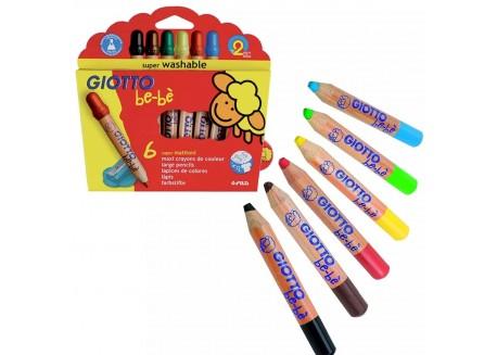 Ciotto Bebé Súper lápices de colores + sacapuntas