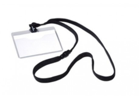 Durable caja de 10 fundas identificación con cinta