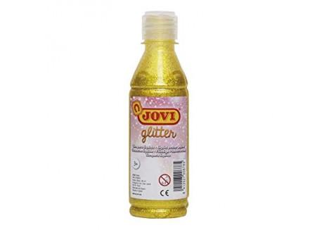 Jovi témpera líquida glitter 250 ml.