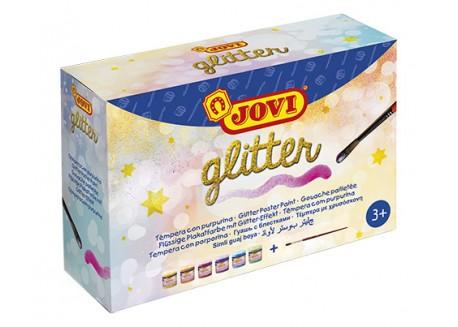 Jovi témpera glitter 55 ml.